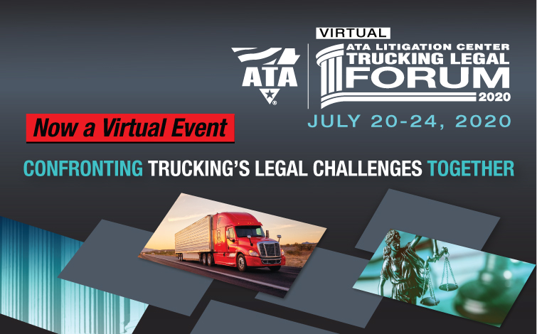 Confronting Trucking's Legal Challenges Together